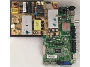 Seiki SE39FT11 Main Board/Power Supply 33H0342