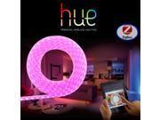 Zigbee RGB LED Light Strip with Philips Hue,  Smart Home Phone APP Control