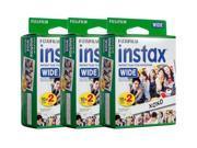 Fujifilm instax Wide Instant Film (2 x Twin Packs) (60 Films)