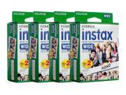 Fujifilm instax Wide Instant Film (2 x Twin Packs)  (80 Films)