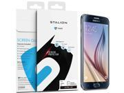 Samsung Galaxy S6 Screen Protector: Stalion® Shield Ultra HD Armor Guard Transparent Crystal Clear Japanese PET Film (3-Pack)[Retail Packaging] 9SIAAPN4G80082