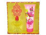 Betsey Johnson by Betsey Johnson for Women - Gift Set -- 3.4 oz Eau De Parfum Spray + 6.7 oz Body Lotion