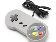 For Nintendo SNES game controller Classic Super Nintendo USB Famicom color SNES SF PC Controller Gamepad Joypad for Windows PC/MAC