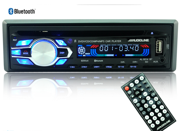 5014BT 12V Fm Receiver Car Audio Stereo with Mp3 Radio Player, USB SD Input, AUX Receiver and Remote Control In-Dash DVD CD Receiver with Mixtrax, Bluetooth, Pandora Ready & Android Music Support