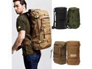 Military Tactical Rucksack Backpack Camping Hiking daypack shoulder Bag-Green