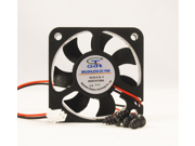 50mm 10mm New Case Fan 5V DC 12.5CFM PC 2 Wire Computer Cooling Sleeve Brg