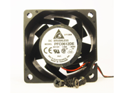 60mm 38mm New Case Fan 12V 67CFM Ball Bearing Waterproof to IP55
