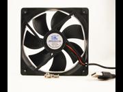 New 120mm 25mm Case Fan 5V 75CFM USBA Male Computer Cooling Sleeve Bearing 12025