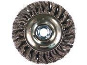 Advance Brush - 81657 - 4 Standard Twist Knot Wheel .014 Cs Wire 9SIAAU94VK0196