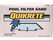 Quikrete 1153-50 Pool Filter Sand, 50 lb, Bag, 0.03 - 0.016 in, Tan 9SIAAU957E3223