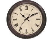 WESTCLOX 32059 20IN RND D COR WLL CLOCK