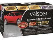 Valspar 1081020 Floor Coating Kit, 120 oz Coating Kit, Liquid, Silver, Slight, 1.21 SG, 200 deg F Flash Point, <250 g/L
