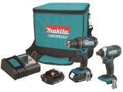 MAKITA CT225R DRILL/DRIVER 18VOLT KIT