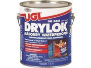 Drylok 20813 Masonry Waterproofing Paint, 1 gal, 100 sq-ft/gal Smooth Surfaces, 75 sq-ft/gal Rough Surfaces, Aromatic