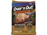 Over'n Out 100515674 Advanced Fire Ant Killer, 11.5 lb Bag, Gray, Solid Granular