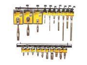 Dewalt DWMT74203 Socket Accessory Set, 42 Piece, 1/4 - 3/8 in, 42 Points