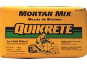 Quikrete 110210 Mortar Mix, 10 lb Bag, Gray to Gray Brown Powder