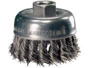 "ADVANCE BRUSH 82219 2-3/4"""" KNOT WIRE CUP BRUSH .014 CS WIRE"" 9SIAAU95V88357"