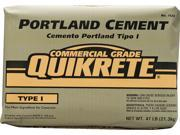 Quikrete 1124-47 Type I Portland Cement, 47 lb, Bag, Gray to Gray Brown, Powder