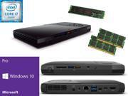 Intel NUC NUC6i7KYK Mini PC i7-6770HQ QUAD CORE, 480GB M.2 SSD Solid State Drive, 32GB RAM Windows 10 Pro Installed & Configured