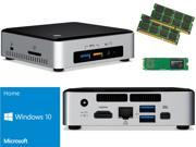 Intel NUC NUC6i3SYK Mini PC (Skylake) i3-6100U, 120GB Samsung SSD, 32GB RAM Windows 10 Home Installed & Configured