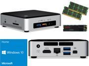 Intel NUC NUC6i3SYK Mini PC (Skylake) i3-6100U, 1TB SanDisk SSD, 16GB RAM Windows 10 Home Installed & Configured