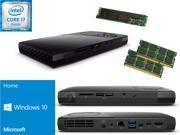 Intel NUC NUC6i7KYK Mini PC i7 6770HQ QUAD CORE 120GB M.2 SSD Solid State Drive 32GB RAM Windows 10 Home Installed Configured