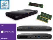 Intel NUC NUC6i7KYK Mini PC i7 6770HQ QUAD CORE 256GB PRO M.2 SSD Solid State Drive 32GB RAM Windows 10 Pro Installed Configured