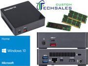 Gigabyte BRIX s Ultra Compact Mini PC Skylake GB BSi7A 6500 i7 250GB SSD 8GB RAM Windows 10 Home Installed Configured