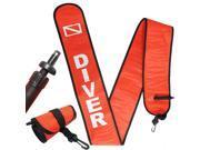 Scuba Diving 6ft Surface Marker Signal Tube Oral Standard BC Hose Inflator