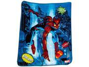MARVEL Spiderman Comic Fleece Throw 9SIAAUY46G2638