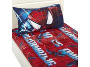 Marvel Spiderman Slash Sheet Set, Twin 9SIAAUY4WA3283