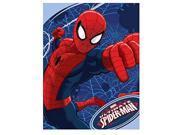"Spider-Man Plush Microfiber Throw 46"""" x 60"""""" 9SIAAUY4WA3418"