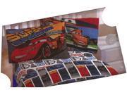 """Disney PIXAR Cars Full Size Sheet Set """"""""Super Speedway"""""""""""" 9SIAAUY4WA3381"""