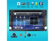 2din 100% New universal Car Radio Double 2 din Car DVD Player GPS Navigation In dash Car PC Stereo video+Free Map+Free Camera 9SIAAV749F9604