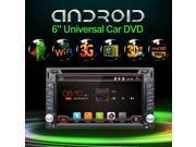 2017 NEW! Sale Original Android 4.4 2 DIN Car DVD Radio GPS Stereo Wifi 3G DVR OBD2 BT 1080P 1.6GHz Car Stereo Radio Bluetooth