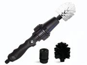 Brush Hero BH1001b Wheel Brush - Premium Water-Powered Turbine for Rims, Engines, Bikes, Equipment, Furniture (Starter Set)