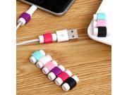 Revolity  USB Charging Cable Headset Cord Saver Protective For Cellphone