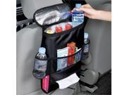 Revolity Universal Car Auto Seat Back Organizer with Multi Pockets Heat Preservation and Cooling Pocket Bag Collector