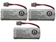 Battery BT-1021 BBTG0798001 for Uniden Cordless Handsets High Capacity Rechargeable (3-Pack)