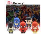 USB flash drive super hero USB disk 32g iron man pen drive the avengers usb flash shield pendrive captain America USB2.0 9SIAAWS48P2525