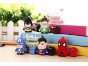100% real capacity pen drive Captain America super man 16G usb flash drive flash memory stick pendrive pendriveping no chain 9SIAC5C5AA7046