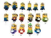 Real capacity cartoon Minions Family USB 2.0 USB flash drive pen drive 8gb 16gb 32gb 64gb Dave Kevin Memory Stick Pendrive Gift 9SIAAWS48P4373