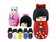 Usb Flash Drive Memory Stick Pen Drive Cartoon Japanese doll Model 4gb 8gb 16gb 32gb 64gb USB 2.0 Disk 9SIAC5C5AA4651