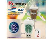 Dr.Memory Pen Drive Starbucks Cup USB Flash Drive 8GB 16GB 32GB 64GB Cartoon Bottle coffee mug Flash Memory Stick Disk On Key 9SIAAWS48P1154