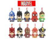 The Avengers USB Flash Drive super man iron man batman heron pendrive 4GB/8GB/16GB/32GB USB 2.0 captain america Memory Stick 9SIAC5C5AA6509