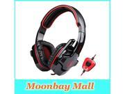 HiFi Stereo SA 901 Computer Headphone With Microphone & Volume Control, USB Gaming Headphone Headset For Gamer Free