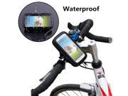 Universal Bicycle Bike Phone Holder Waterproof Bag Case Mobile Smartphone Mount Stand Mountain Motorcycle Handlebar Clip Pouch 9SIAAWS49T6924