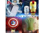 usb flash drive The Avengers pen drive Captain America flash card Iron Man usb stick 4 8 16 32GB USB 2.0 Hulk memory stick 9SIAAWS5WM4002
