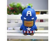 U Disk pen drive Captain America super man 4GB/8GB/16GB/32GB/64GB usb flash drive flash memory stick pendrive 9SIAC5C5WV5863